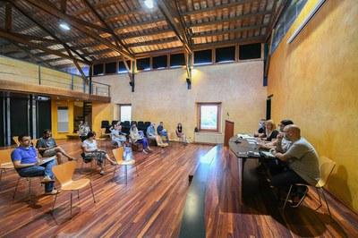 Reunió de constitució de la Comissió (foto: Ajuntament de Rubí – Localpres).