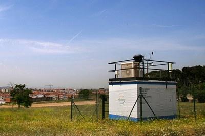 Cabina de control dels nivells d'ozó troposfèric (foto: Ramon Vilalta).