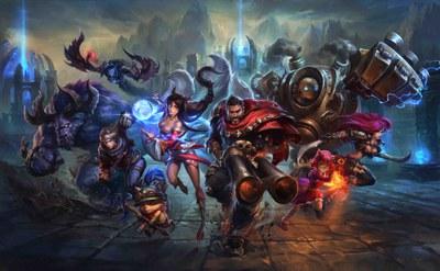 """""""League of Legends"""" és un videojoc en línia molt popular entre els joves."""