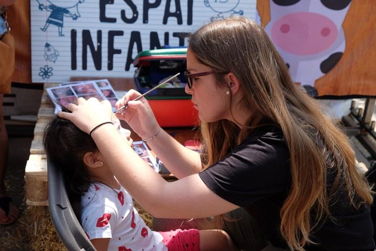 Els infants han pogut gaudir de diverses activitats (foto: Localpres)