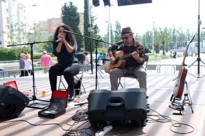 La música també ha format part de la fira (foto: Localpres)