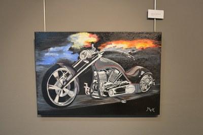 La mostra de l'Espai Expositiu Antiga Estació recull una quinzena de pintures molt realistes.