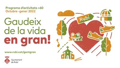 Imatge del programa Gaudeix de la vida en Gran!  (foto: Ajuntament de Rubí).