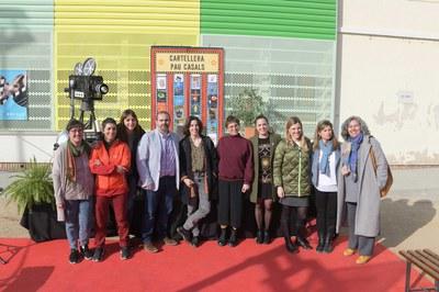 Els regidors d'Infància i Educació i de Joventut també han volgut ser presents en aquest acte (foto: Ajuntament de Rubí - Localpres)