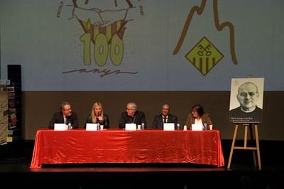 L'acte s'ha celebrat al Teatre Municipal La Sala (foto: Ajuntament de Rubí – Localpres).