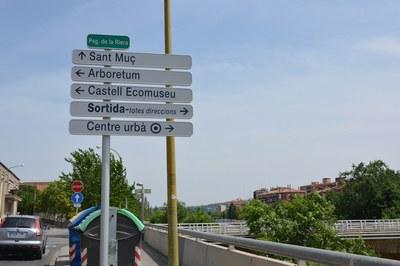 En total, el Consistori instal•larà 176 conjunts de senyalització d'orientació urbana.
