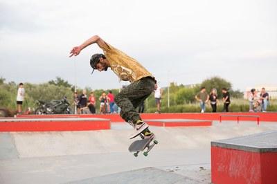 La darrera edició de l'Skate Open es va celebrar al setembre (foto: Ajuntament - Localpres).