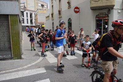 Grans i petits estan convocats a patinar contra l'assetjament escolar (foto: Ajuntament).