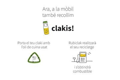 A partir d'aquest dissabte, la deixalleria de Cova Solera i les parades de la deixalleria mòbil se sumen als punts de recollida de clakis que gestiona APDIR.