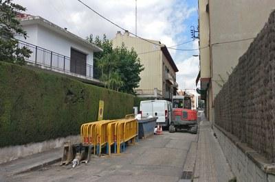 Les obres a la xarxa d'abastament d'aigua ja s'han iniciat (foto: Ajuntament).