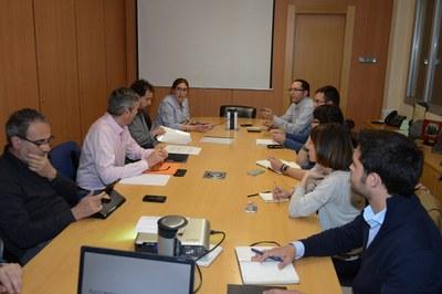 La Comissió especial del POUM es va reunir per primera vegada fa uns dies (foto: Localpres).