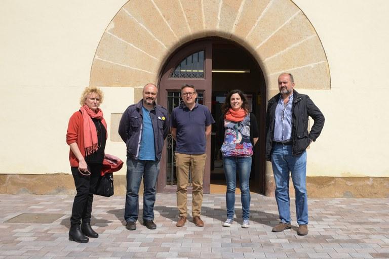 La reunió ha tingut lloc a la Masia de Can Serra (foto: Localpres)