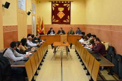 El Comitè d'emergència municipal per risc de ventades de l'Ajuntament de Rubí s'ha reunit novament aquest migdia.