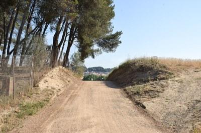 Un dels espais que s'arranjaran gràcies a aquest projecte són els camins de Ca n'Oriol (foto: Localpres).