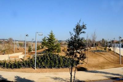 L'Arborètum es va crear l'any 2010, gràcies al Fons Estatal per a l'Ocupació i la Sostenibilitat Local (foto: Lídia Larrosa).