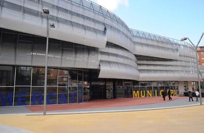 El Mercat es va obrir el 3 de gener de 1980 a la seva ubicació actual (foto: Lídia Larrosa).