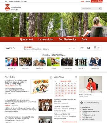 El nou portal se centra en l'usuari i ofereix noves funcionalitats.