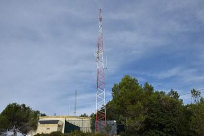 La nova antena està ubicada al Centre de Telecomunicacions (foto: Localpres).