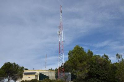 La nova antena està ubicada al Centre de Telecomunicacions (foto: Localpres)