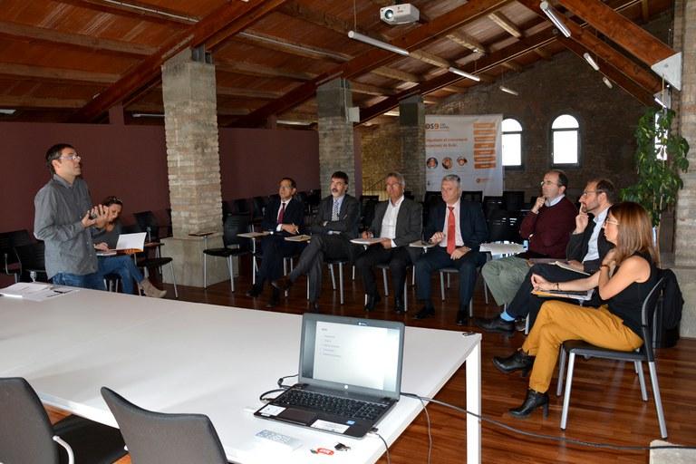 La comissió externa evidencia el treball transversal en la realització d'aquest projecte