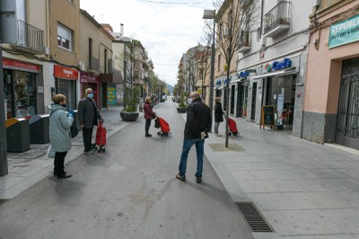 Les botigues d'alimentació no podran obrir més enllà de les 21 h (foto: Ajuntament de Rubi – Localpres).