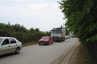 Amb aquestes obres, el consistori rubinenc vol millorar l'accessibilitat de la carretera d'Ullastrell.