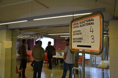 El servei de processos electorals del consistori ha valorat els col•legis electorals dels darrers comicis per determinar si eren prou espaiosos. (foto: Ajuntament de Rubí).