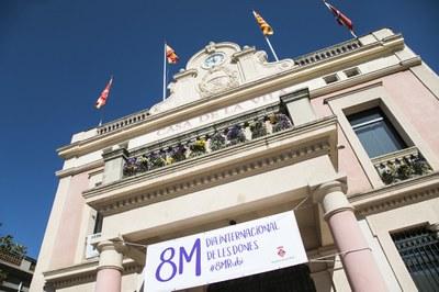 L'edifici consistorial en una imatge d'arxiu (foto:  Ajuntament de Rubí – Localpres).