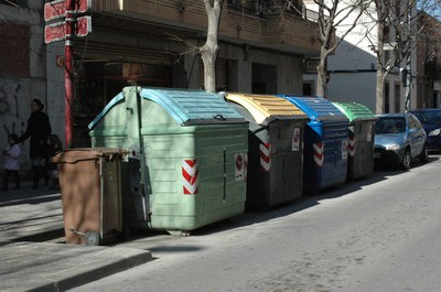 Un dels aspectes en què s'ha incidit durant les visites ha estat la correcta separació dels residus.