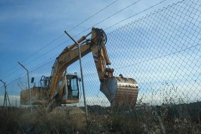 L'Ajuntament ha comprovat que les obres no s'han aturat.