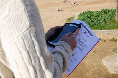 La recollida d'informació s'ha fet a través d'enquestes  (foto: Ajuntament de Rubí - Localpres).