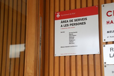 Les persones destinatàries són derivades de Serveis Socials (foto: Ajuntament de Rubí – Localpres).
