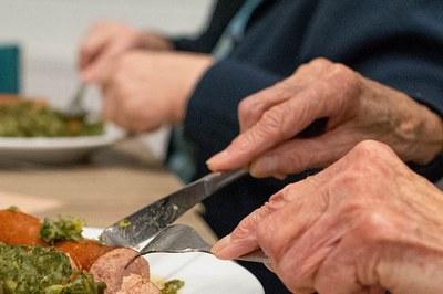 Els àpats es reparteixen a una seixantena de domicilis de la ciutat.