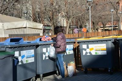 La nova ordenança ha de promoure la recollida selectiva de residus, entre d'altres (foto: Ajuntament de Rubí).