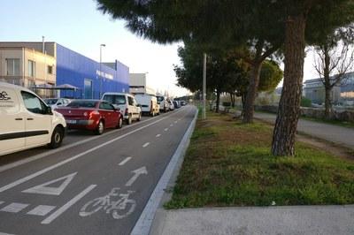 Aquesta actuació permetrà ampliar el circuit de l'anella verda ciclista de Rubí (foto: Ajuntament).