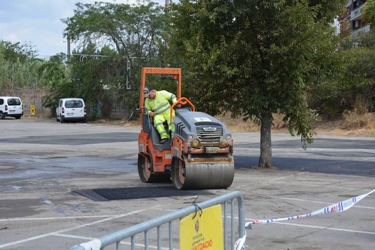 Les tasques de reparació dels paviments seguiran una programació (foto: Ajuntament de Rubí)