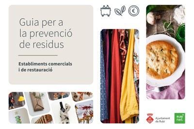 La guia es reparteix a cada comerç i també es pot consultar a la web municipal (foto: Ajuntament de Rubí).