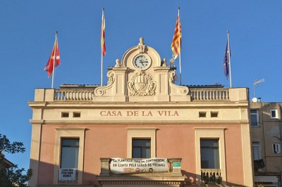 Les al·legacions també es poden presentar a la consergeria del Consistori (foto: Ajuntament de Rubí).