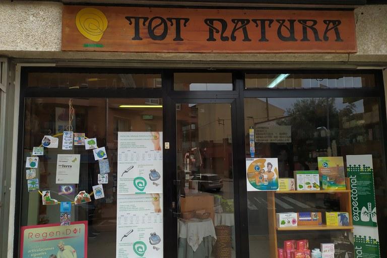 Aparador de Tot Natura (foto: Ajuntament de Rubí)