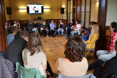 Aquest dijous ha tingut lloc una sessió tècnica sobre el projecte a l'Ateneu (foto: Ajuntament de Rubí).