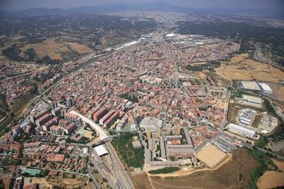 El nou POUM ha de donar resposta als canvis demogràfics, industrials i socials que ha experimentat la ciutat i a les seves necessitats futures (foto: Ajuntament de Rubí).