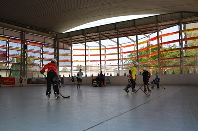 Els Jocs Esportius Escolars compten amb una quinzena de disciplines, entre elles l'hoquei línia.