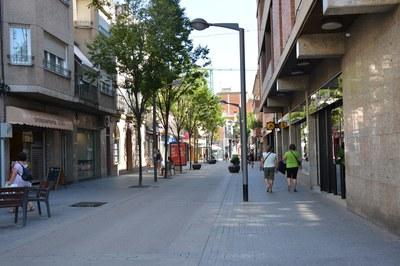 Les obres s'iniciaran al tram més proper a pl. Catalunya (foto: Ajuntament).
