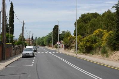 Els treballs s'executaran a les voreres de l'av. Castellbisbal (foto: Ajuntament de Rubí – Localpres).