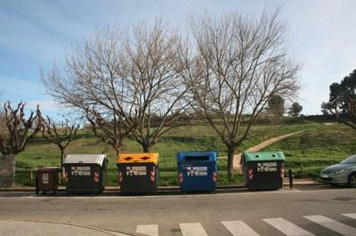 La nova ordenança ha de promoure la reducció i la recollida selectiva de residus, entre d'altres (foto: Ajuntament de Rubí).