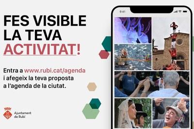 La voluntat del Consistori és oferir una agenda de ciutat completa als rubinencs i les rubinenques (foto: Ajuntament de Rubí).