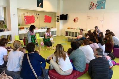 Les activitats proposades estan adreçades a les famílies de Rubí (foto: Biblioteca Municipal Mestre Martí Tauler).
