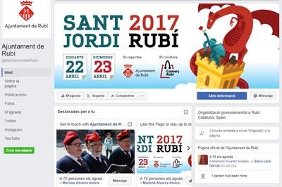La pàgina de Facebook de l'Ajuntament ja està activada.