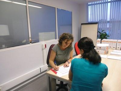 Sessió de treball del programa FOJ.