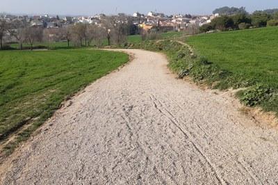 Un dels espais on s'ha actuat han estat als camins de Ca n'Oriol (foto: Ajuntament de Rubí).